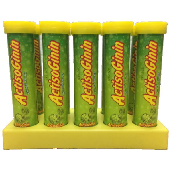 [Combo 10 Tuýp] Viên Sủi Actisoginin râu ngô rau má - Thanh nhiệt giải độc,Tăng Cường Chức Năng Gan- bổ sung vitamin cao cấp