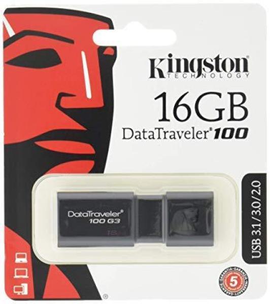 USB 3.0 kingston DT100 G3 16GB - Tem FPT or Vĩnh xuân