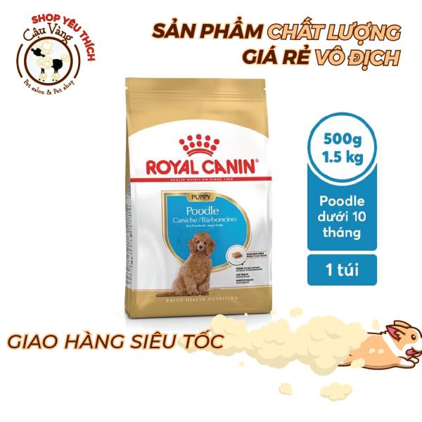 [ 500g - 1kg5 ] Thức ăn chó con Poodle Royal Canin Poodle Junior