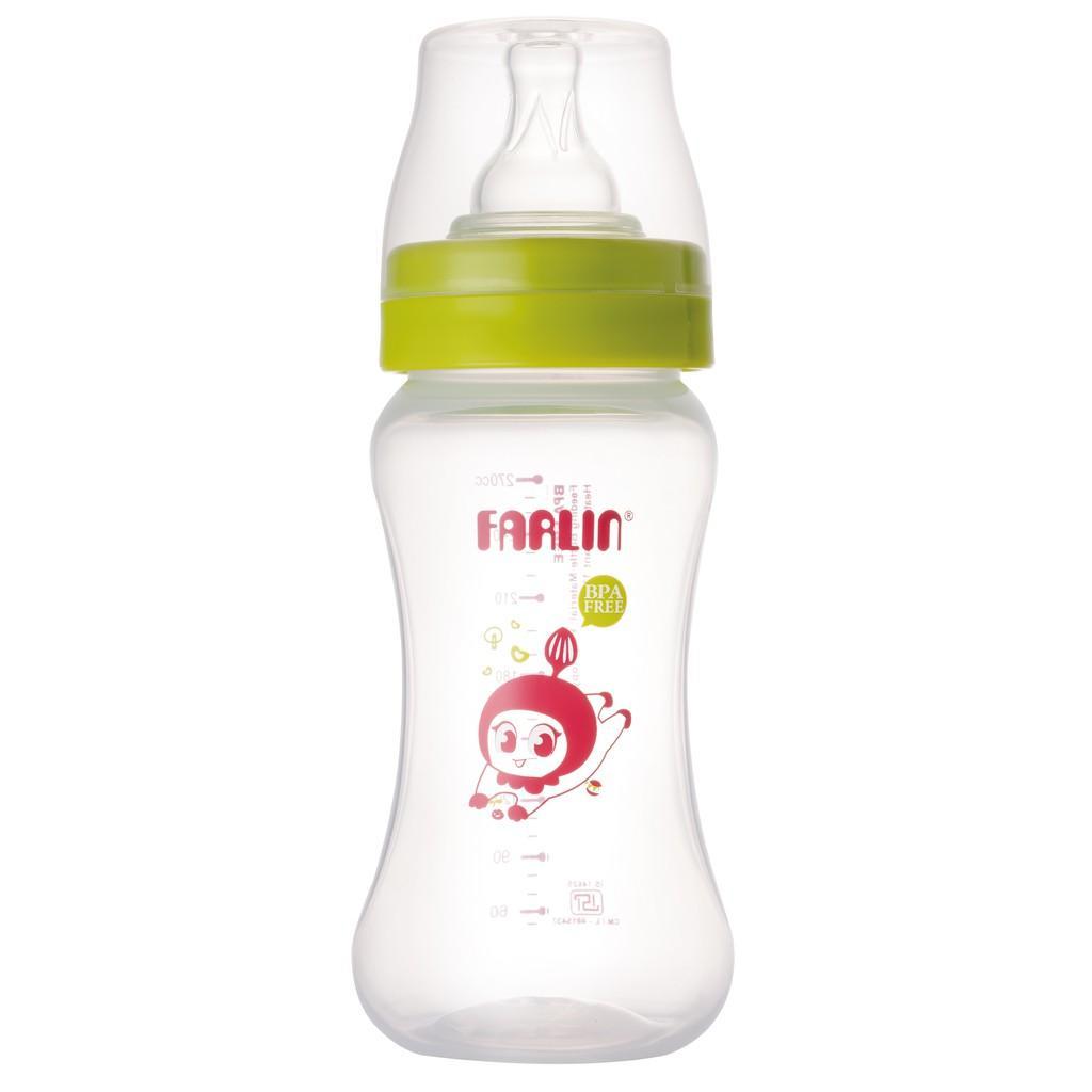 Bình Sữa Nhựa Farlin Cổ Rộng PP.805 ( 270ml )