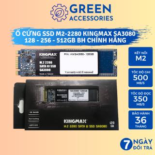 Ổ cứng SSD M2 KINGMAX 256GB 128GB (M2-2280 ) SA3080 - Chuẩn giao tiếp M2-SATA - BH Chính Hãng 3 Năm thumbnail