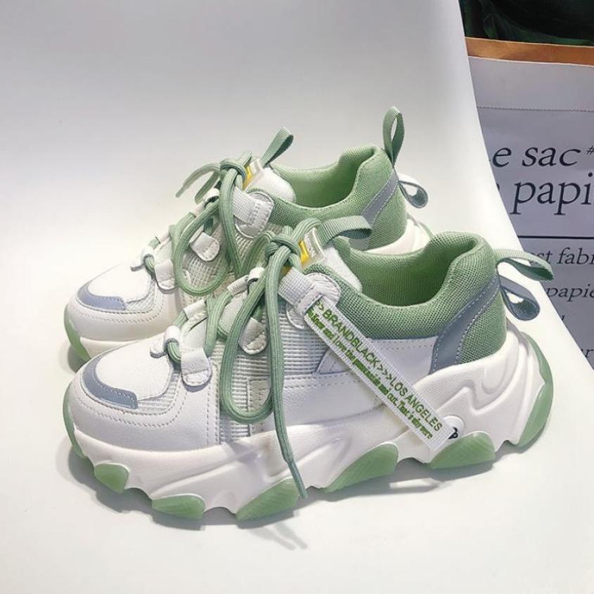 Giày thể thao nữ Snaker S5 Đế độn Kiểu dáng hàng quốc giá rẻ