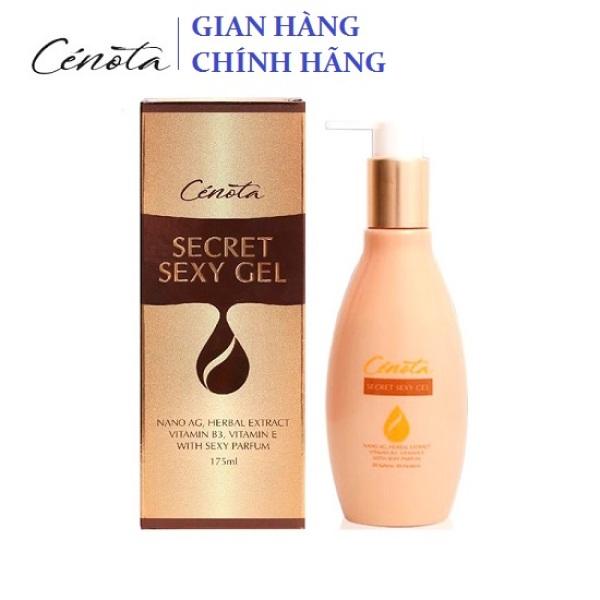 Dung Dịch Vệ Sinh Phụ nữ Cenota Secret Sexy Gel - Hương tinh dầu hoa Pháp