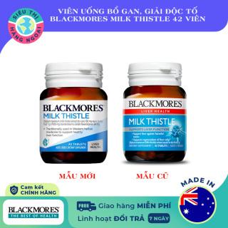 Blackmores Milk Thistle-Viên uống hỗ trợ chức năng gan 42 viên Exp02 2024 [Bổ gan, giải độc tố] Úc (được bán bởi Siêu Thị Hàng Ngoại) thumbnail