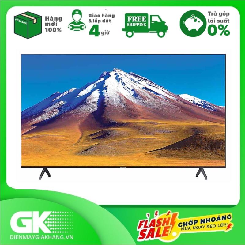 [GIAO HÀNG 2 - 15 NGÀY, TRỄ NHẤT 15.09] [Trả góp 0%]Smart Tivi Samsung 4K 65 inch UA65TU6900 chính hãng