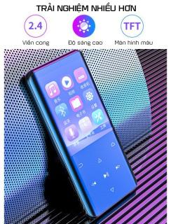 Máy Nghe Nhạc MP3 Hỗ Trợ Xem Phim Định Dạng AVI RUIZU D25 Công Nghệ Bluetooth 5.0 Màn Hình 2,4Inch Cong 3D Có Tính Năng Lặp A-B Hỗ Trợ Học Tiếng Anh - Bộ Nhớ Trong Từ 16Gb Đến 32Gb thumbnail
