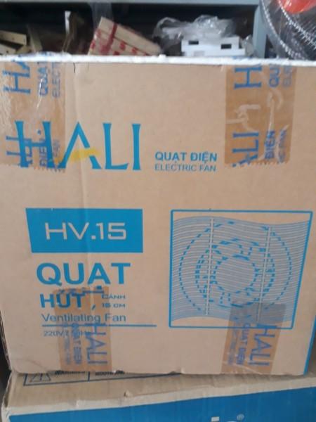[HCM]Quạt hút thông gió 1 chiều Hali HV .15
