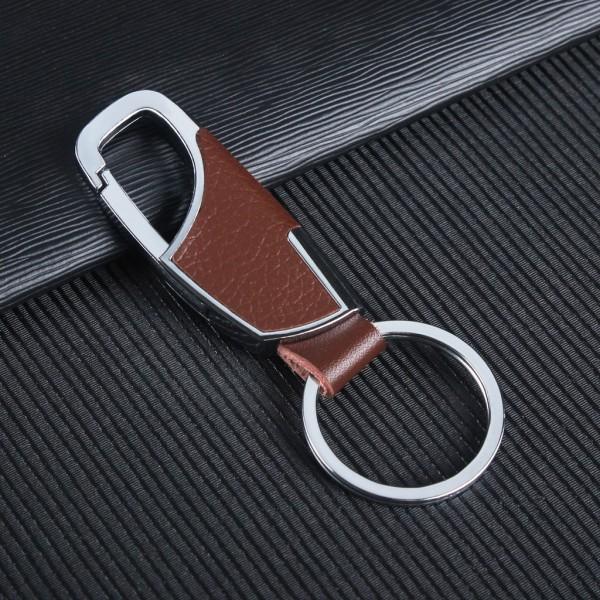 Móc khóa ô tô DA PU- móc khóa xe máy, phụ kiện thời trang, thiết kế sang trọng hợp kim thép