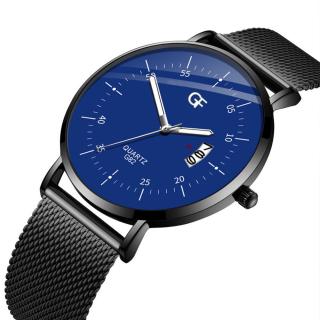 Đồng hồ nam GF mặt siêu mỏng Original Design dây thép lụa cao cấp chạy lịch ngày thumbnail