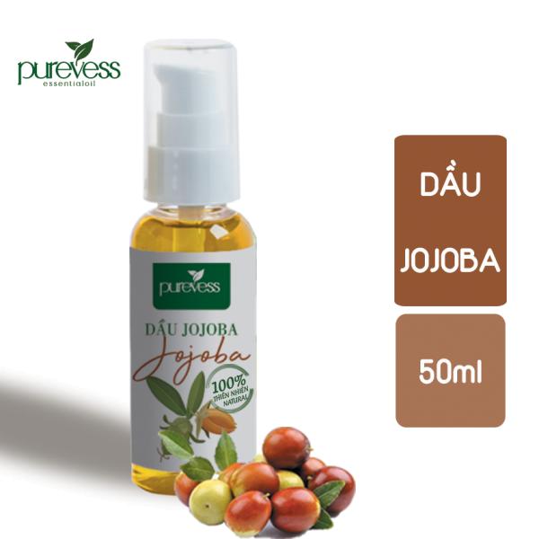 Dầu Jojoba  PUREVESS Giúp làm giảm sự xuất hiện của các vết rạn da, sẹo, hoặc mụn, mụn nước, 50ml.