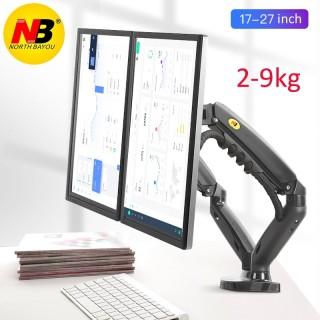 Giá đỡ 2 màn hình máy tính LCD nhập khẩu 17-27inch F160 tải trọng 9kg mỗi cánh tay thumbnail