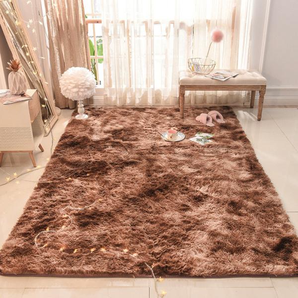 Thảm lông trải sàn lông xù (2m x 1m6) cao cấp phòng khách trang trí nhà cửa, thảm trải sàn phòng ngủ, thảm trải sàn phòng khách nhiều màu