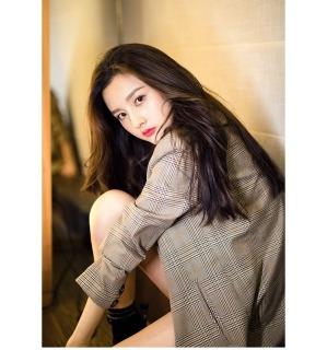 [HCM]Áo Khoác Kẻ Ca Rô Cổ Điển Phong Cách Hồng Kông Nữ Áo Blazer Thường Ngày Xuân Thu 2020 Sang Trọng Mới Phiên Bản Hàn Quốc thumbnail