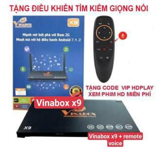 ANDROID BOX TV CHÍNH HÃNG VINABOX X9 - RAM 2GB/16GB - FULL ỨNG DỤNG -