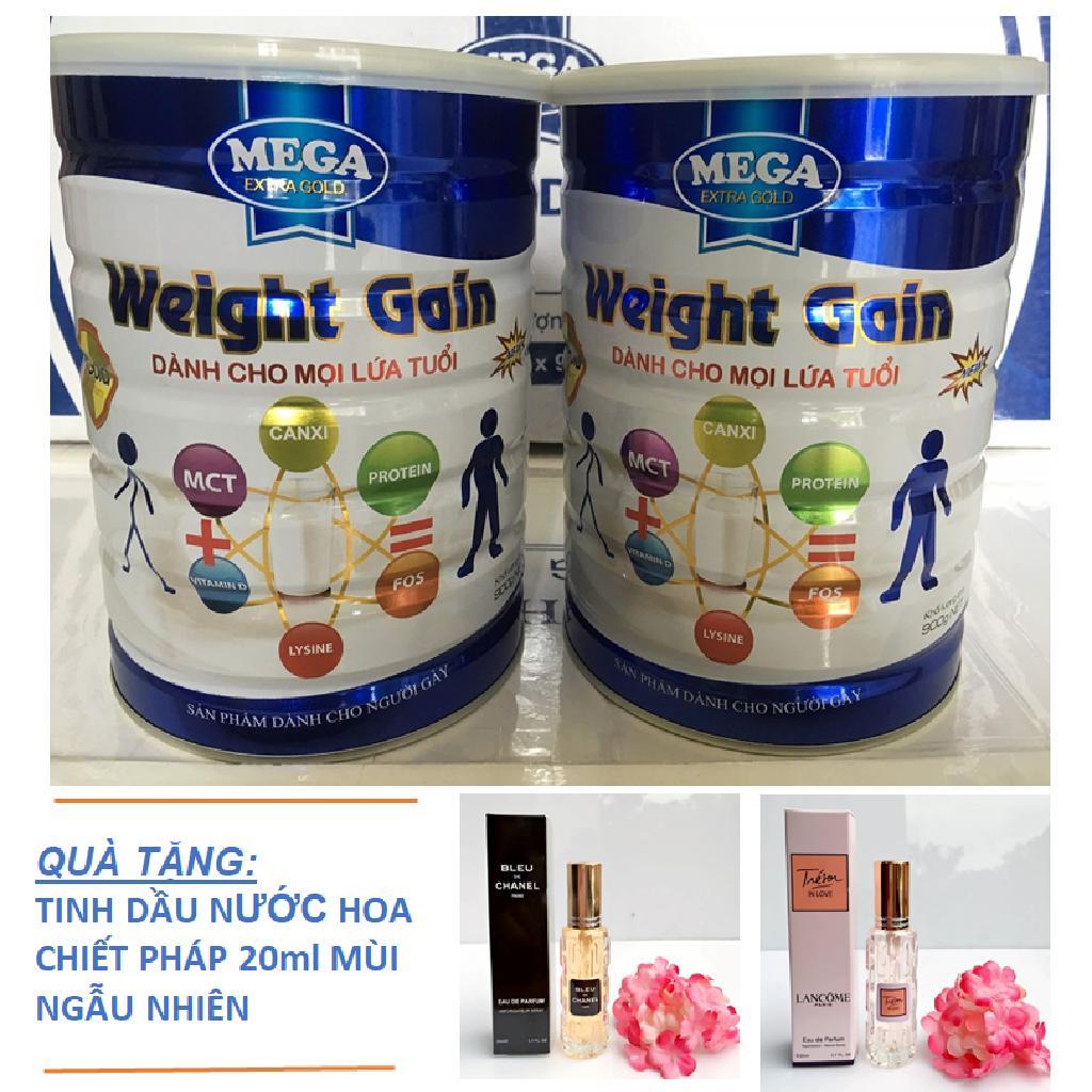 Sữa Tăng Cân Cho Người Gầy Weight Gain (combo 2 Lon 900g) By Megaminishop.com.