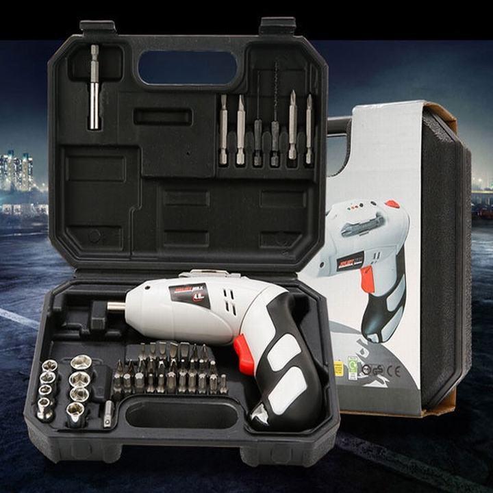 Bộ máy khoan sạc pin cầm tay  45 chi tiết Joust Max| Máy khoan cầm tay dùng pin | BỘ MÁY KHOAN JOUST MAX CẦM TAY PIN SẠC