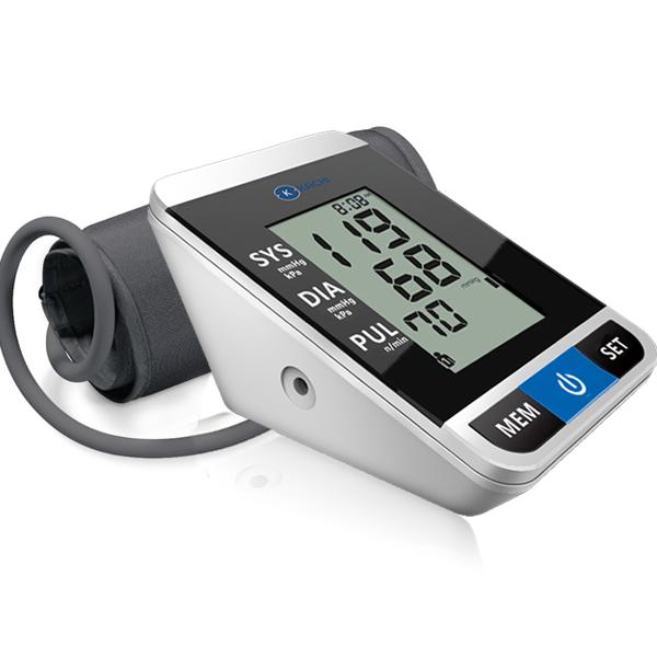 Máy đo huyết áp tự động Kachi MK167 có phát giọng nói - Màu đen
