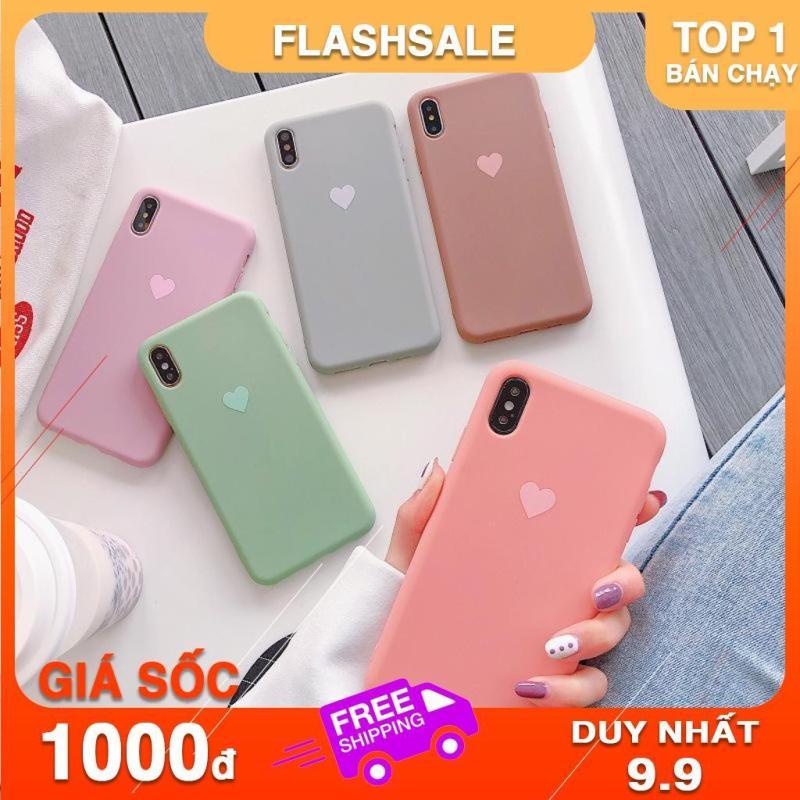 Giá Ốp lưng iphone In hình trái tim mờ nhẹ nhàng dành cho iphon 6 6s plus 7 8 plus x xs max xr 11 promax (a113)