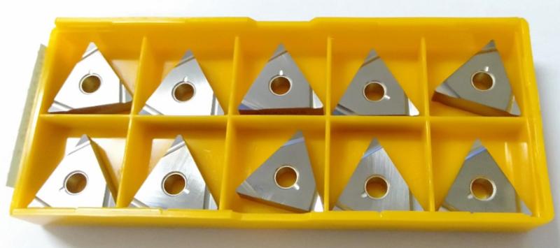 Hộp 10 mảnh dao tiện tinh MITSUMISHI ( TNGG160404R-F NX2525)