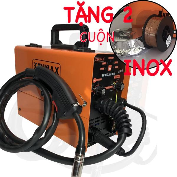 Máy Hàn Mig KENMAX -Tặng cuộn dây hàn inox 1kg và cuộn hàn lõi thuốc 1kg
