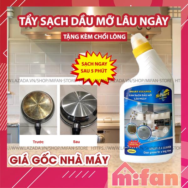 Làm Sạch Dầu Mỡ Lâu Ngày SMART CLEANER - Tẩy Sạch Dầu Mỡ Trong 5 Phút Không Cần Cọ Rửa - LOẠI CỰC MẠNH