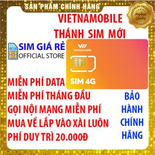 Thánh Sim 4G Vietnamobile mới Miễn phí DATA không giới hạn - Phí gia hạn 20.000đ - Shop Sim Giá Rẻ thumbnail
