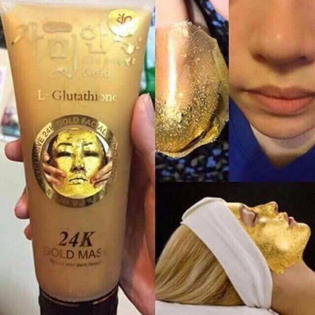 Gel lột mặt nạ vàng 24k L- Glutathione 300g