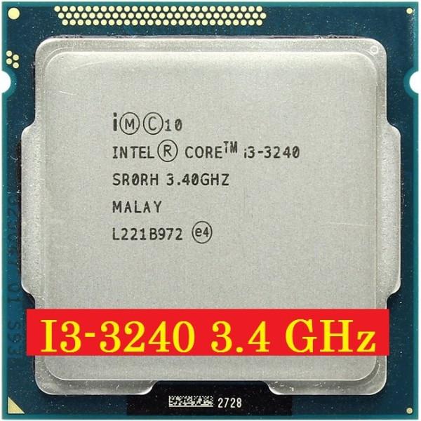 Bảng giá Bộ vi xử lý Intel Core i3 3240 3.40GHz (2 lõi, 4 luồng) Socket 1155.Quà tặng keo tản nhiệt. Bảo hành 1 tháng 1 đổi 1 Phong Vũ