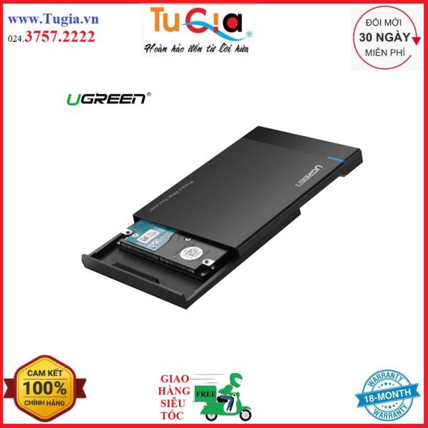 Bảng giá Hộp đựng ổ cứng 2,5 inch USB 3.0 chính hãng Ugreen 30848 cao cấp-Hàng Chính Hãng Phong Vũ