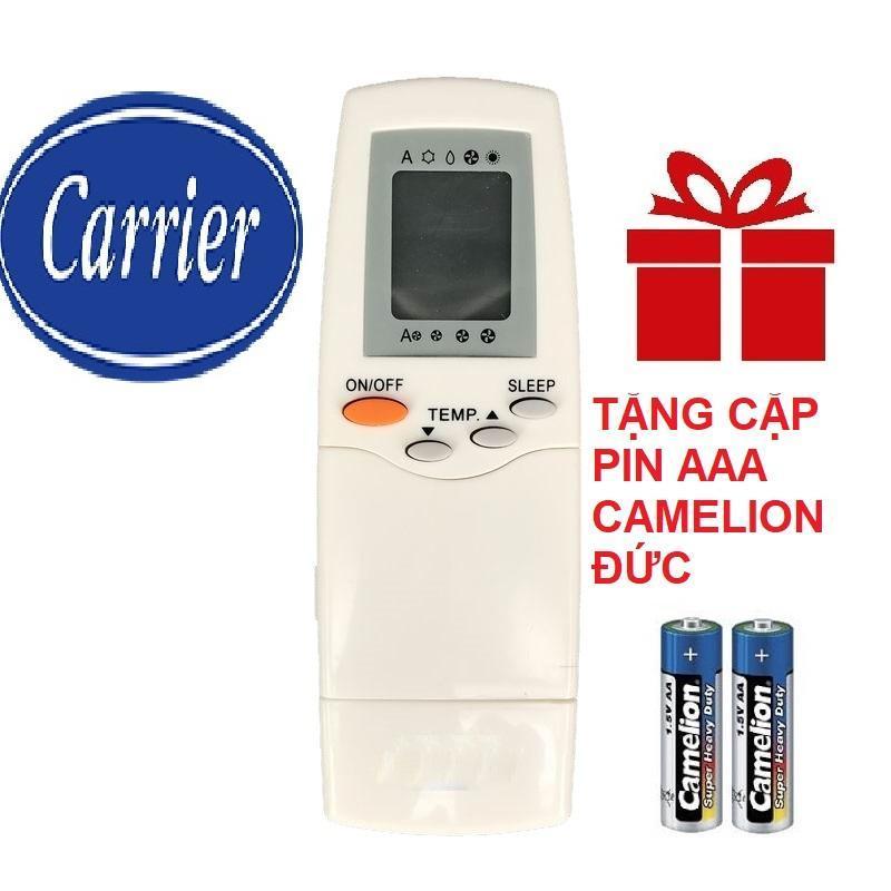 Remote điều khiển máy lạnh CARRIER mẫu 3