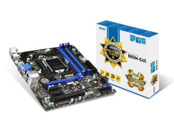 Main B85 MSI 4 khe ram + Ram 8gb ddr3 bus 1600