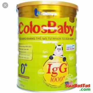 sữa colosbaby IgG1000+ 0+ 800g thumbnail