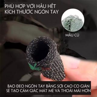 Bao tay chống mồ hôi - Găng Tay chơi game mobile FF PUBG Liên quân Mobile chống trơn trượt tháo tác mượt dễ dàng chính xác ( Màu Ngẫu Nhiên ) thumbnail