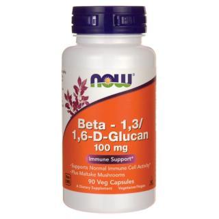Viên uống tăng cường khả năng miễn dịch cho người ăn chay NOW Beta 1,3 1,6- D -Glucan 100 mg 90 viên thumbnail