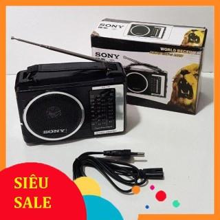 Đài sony Radio FM, AM ,SW 701 nghe radio chuyên dụng có anten có rắc cắm trực tiếp thumbnail