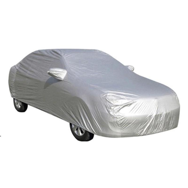 Bạt phủ xe ô tô 4 chỗ loại dày dặn tráng gương cao cấp ( Chống nắng, chống nóng, chống mưa)