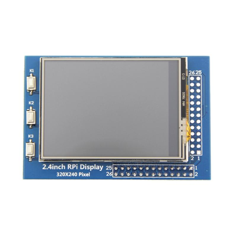 Giá 2.4 Inch LCD Press Screen 320x240 TFT Display Screen for Raspberry Pi 4B Raspberry Pi 3 Model B / B+