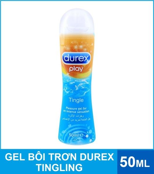 Gel bôi trơn Durex Play Tingling 50ml - Mát lạnh thăng hoa cảm xúc giá rẻ