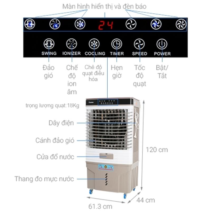 Quạt điều hòa không khí Fresh 9000D Rapido