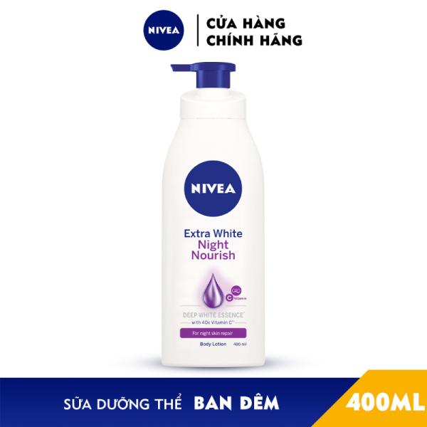 (Date mới) Sữa Dưỡng Thể Trắng Da Nivea bạn đêm 400ml