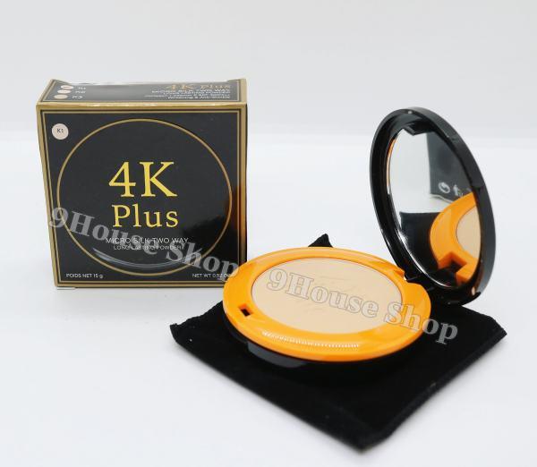 01 Phấn Phủ 4K Plus Micro Silk Two Way Thái Lan Kiềm Dầu & Chống Nắng SPF30PA++