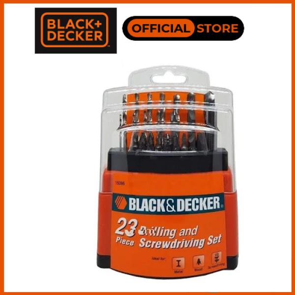 BLACK+DECKER - 15095-B1 BỘ MŨI KHOAN VÀ VẶN VÍT 23 CHI TIẾT