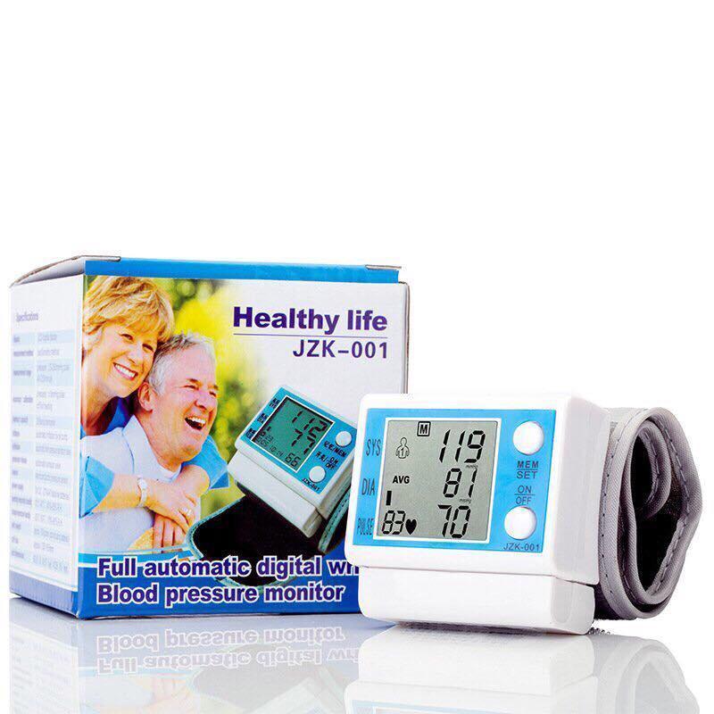Máy đo huyết áp cổ tay HEALTHY LIFE JZK LOẠI 1 bán chạy