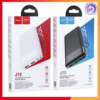Pin Sạc Dự Phòng Hoco J72 Easy Travel 10000 mAh 2 Cổng Input Output Max 2A - Hãng Chính Hãng - Bảo Hành 12 Tháng thumbnail