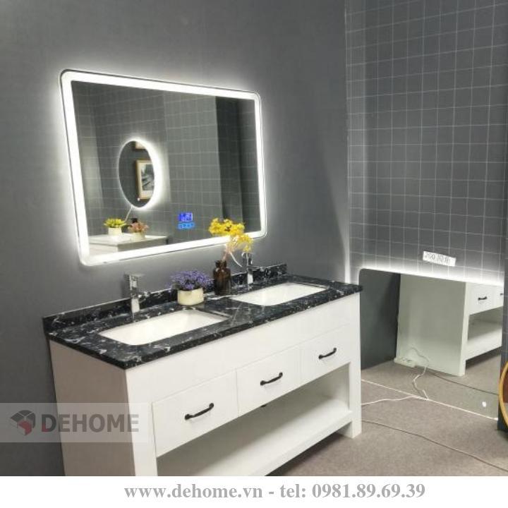 Gương LED cảm ứng Dehome D010 giá rẻ