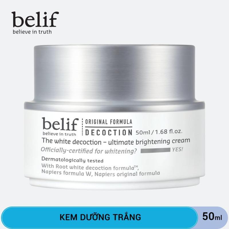 Kem dưỡng trắng Belif The White Decoction Ultimate Brightening Cream 50ml