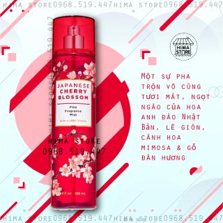 Xịt thơm toàn thân Bath and Body Works Japanese Cherry Blossom Body Mist (236ml) thumbnail