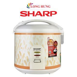 Nồi cơm điện nắp gài Sharp 1.8 lít KS-181TJV - Hàng chính hãng - Thiết kế nhỏ gọn, Dung tích 1.8 lít, 6 chế độ nấu tự động
