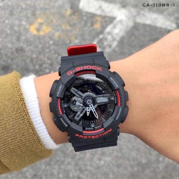Đồng hồ nam G-SHOCK GA110 ( ĐEN VIỀN ĐỎ) + Tặng kèm pin + Bảo hành 6 tháng bán chạy