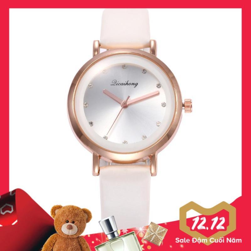 Nơi bán Đồng hồ nữ DICAIHONG mặt kính tráng shapphire đính đá cao cấp IW-DH377